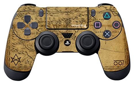 Amazon Com Controller Gear Uncharted 4 A Thief S Map Ps4
