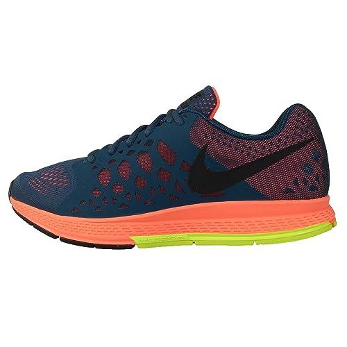 2a66285ce613c Men s Nike Zoom Pegasus 31 Running Shoe Space Blue Hyper Crimson Volt Black  Size 9.5 M US  Amazon.ca  Shoes   Handbags