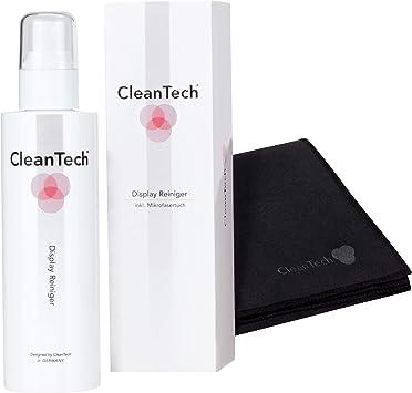 Limpiador de pantalla CleanTech con paño de microfibra profesional ...