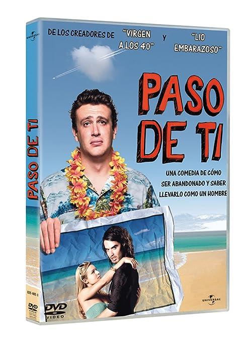 Paso de ti [DVD]: Amazon.es: Jason Segel, Kristen Bell, Russell Brand, Nick Stoller, Jason Segel, Kristen Bell: Cine y Series TV