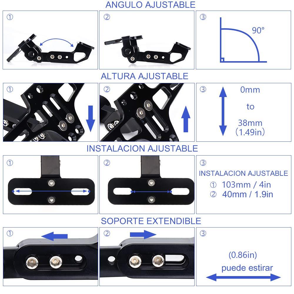 Fender Eliminator License Plate Holders for MT-07 2014-2016 2014-2016 2015
