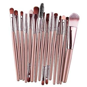 Amazon com: LUNIWEI Beauty Makeup 15 PCS/Set Brush Set: Beauty