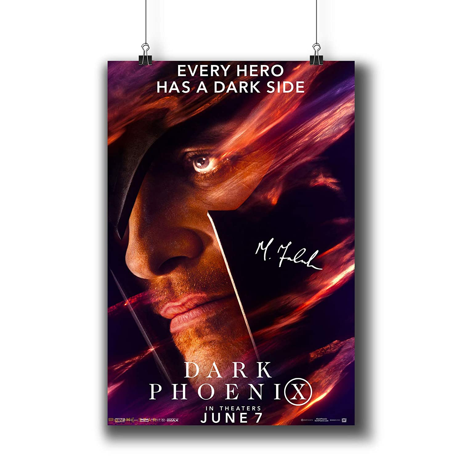 Amazon com: X-Men:Dark Phoenix (2019) Movie Poster Small