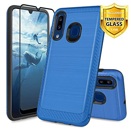 Amazon.com: TJS - Carcasa para Samsung Galaxy A20, Galaxy ...