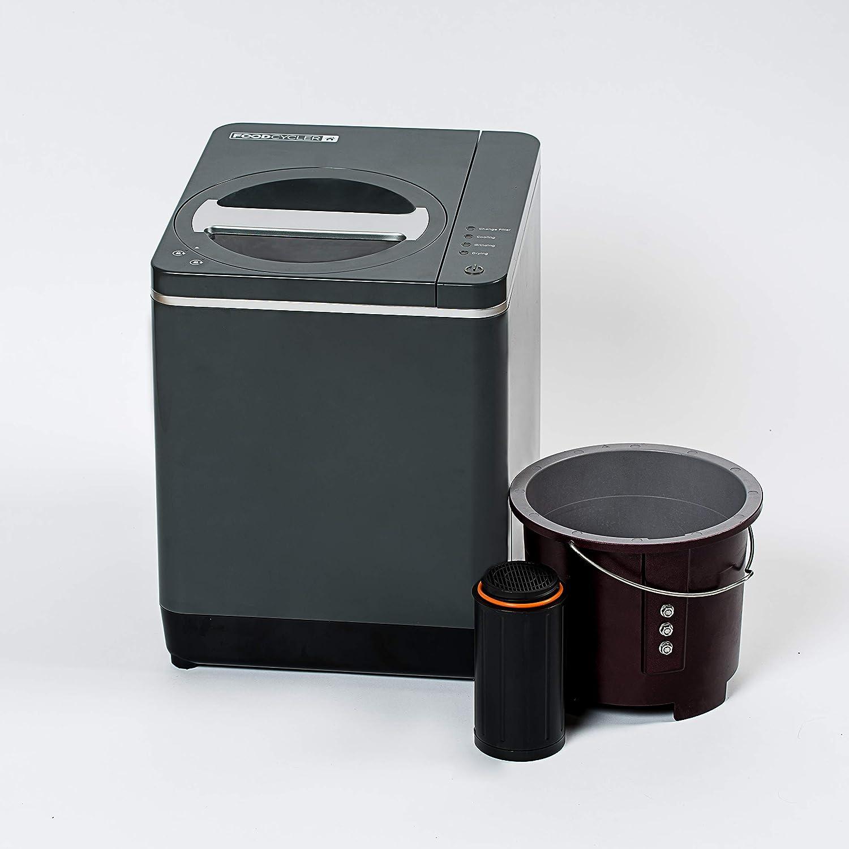 Compost Contenedor pl/ástico Jard/ín compostador 1200L Negro m/ódulo termocompostador