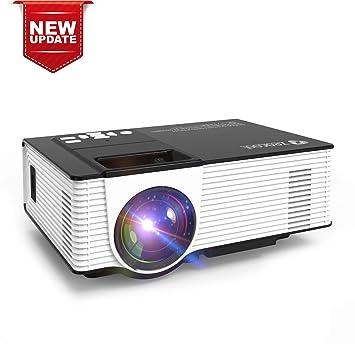 Amazon.com: Zeacool - Proyector de vídeo portátil con ...