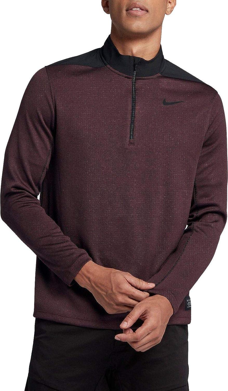 [ナイキ] メンズ シャツ Nike Men's Dri-FIT Golf Zip [並行輸入品] S  B07K14XTC3
