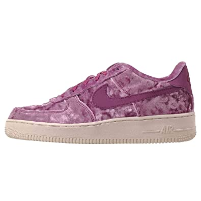 6080d625193af Amazon.com | NIKE Kids Air Force 1 LV8 (GS), Tea Berry/Tea Berry-Bordeaux,  Youth Size 5 | Basketball