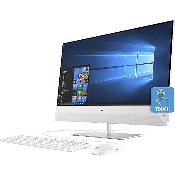 HP Pavilion Ryzen 5 AIO 23.5 FHD Touchscreen Desktop  16  GB/512  GB SSD+1 TB HDD/Vega 8 Graphics/Win 10 Home/Snowflake White/5.59kg , 24 xa1018in