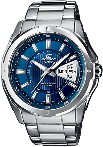 EF de 129d de 2AVEF Casio Edifice Reloj analógico Hombre Día de la semana y fecha.: Amazon.es: Relojes