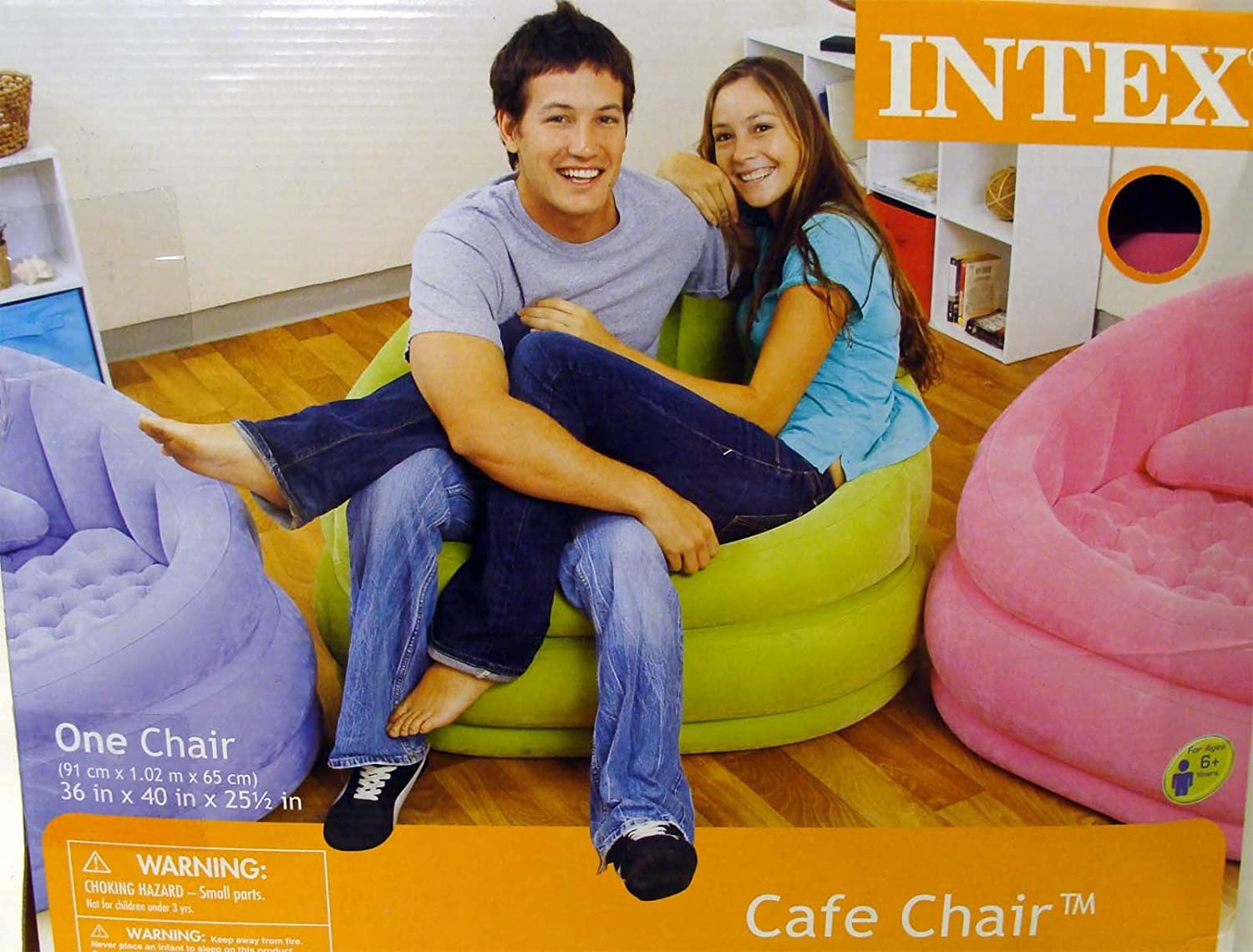 Inflatable Cafe Chair by Intex: Amazon.in: Home & Kitchen