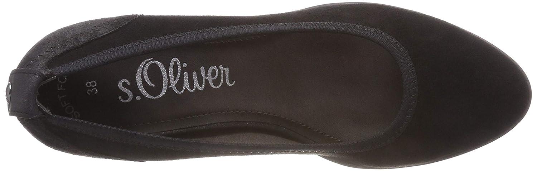 S.Oliver Damen Damen S.Oliver 5-5-22310-21 001 Pumps Schwarz (schwarz 1) 853619