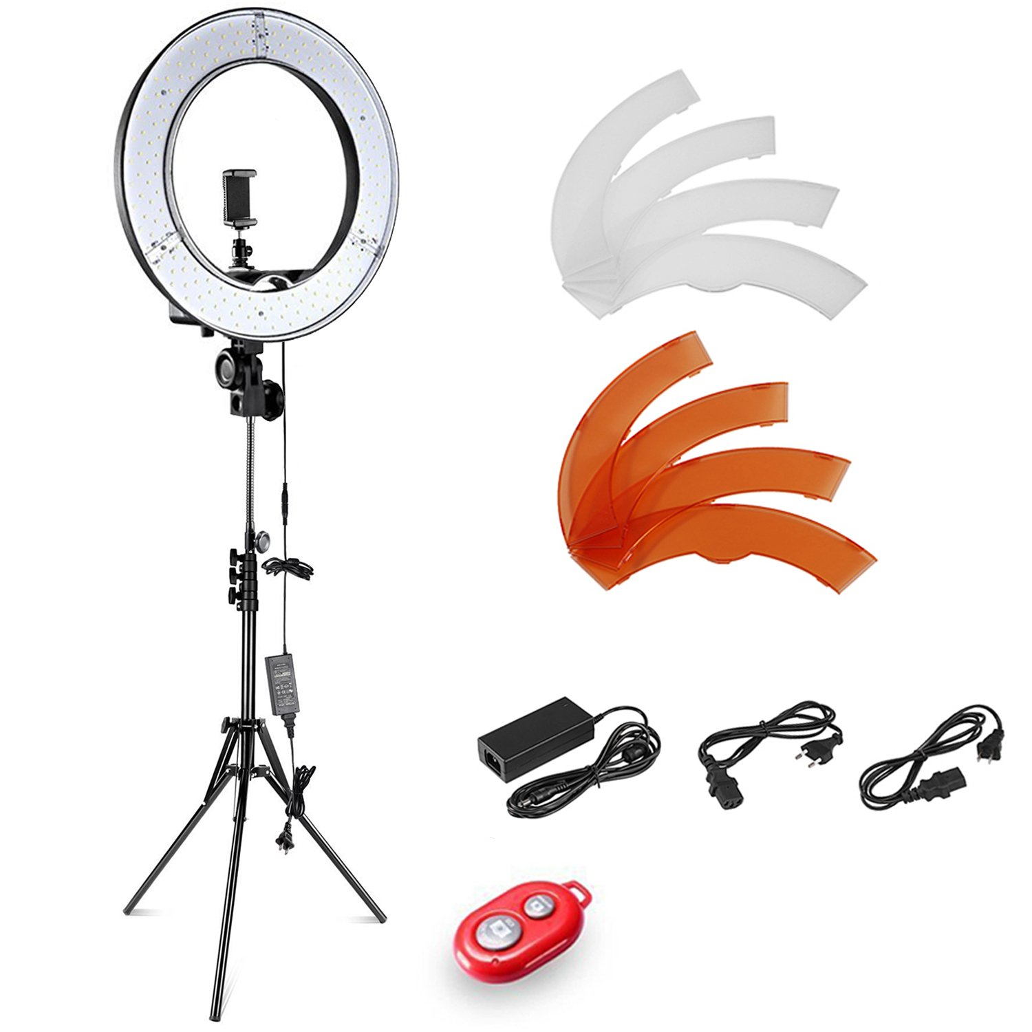 Ring Light Stand Ebay: Neewer 12-inch Inner/14-inch Outer LED Ring Light Stand
