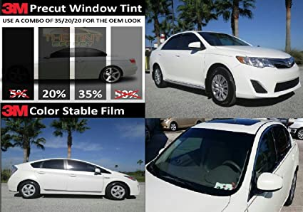 20 Percent Tint >> Amazon Com 3m Color Stable Tint 20 35 Authorized Toyota