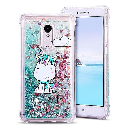 MoEvn Funda Xiao Redmi Note 4 / 4X Redmi Note 4 Liquid Clear ...