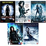 Underworld 1-5 Complete Collection - Underworld + Underworld: Evolution + Underworld: Rise of the Lycans + Underworld: Awakening + Underworld: Blood Wars