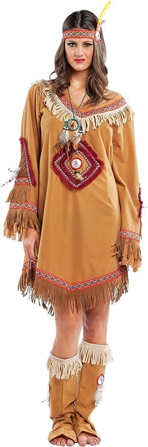 chiber Disfraces Disfraz de India Navajo Mujer Adulta (M - Mediana ...