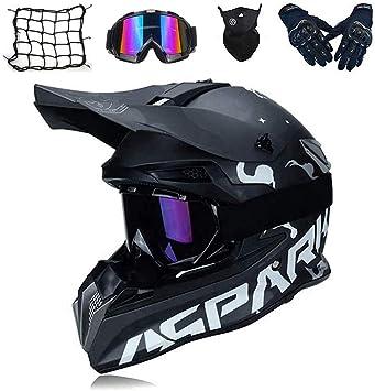 Agvea Mode Cross Country Motorradhelm Motocross Motorradhelm Downhill Fullface Helm Für Motorrad Crossbike Off Road Enduro Sport Jugend Motocross Helm Kinder Motorrad Fahrrad Helm S Auto