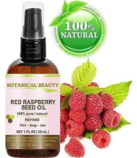 Aceite de semillas de frambuesas rojas. 100% Puro / Natural / Sin diluir /