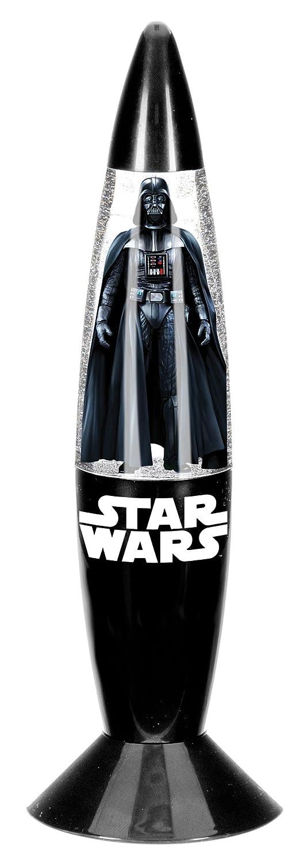 empireposter LED-Lampe - Star Wars - black - Größe Ø6xH18 cm - Glitzerlampe mit Farbwechsel - Mini Dekoleuchte Kinderzimmer