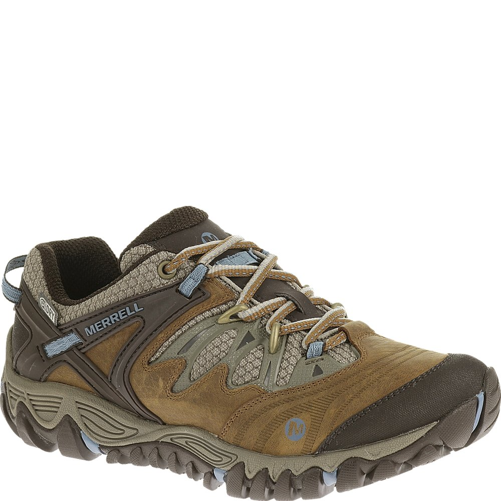 Merrell Women's J65470, Brown Sugar/Blue Heaven, 8 M US