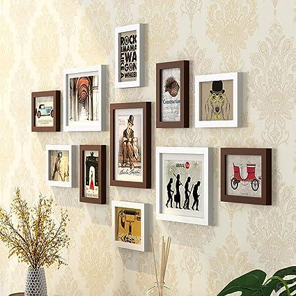 Amazon.com - Photo Frame Wall-Living Room Photo Frame Wall ...