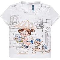 Mayoral, Camiseta para bebé niña - 1010, Marfil