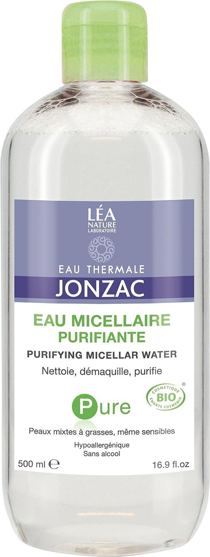 Agua termal Jonzac, agua micelar purificante pura