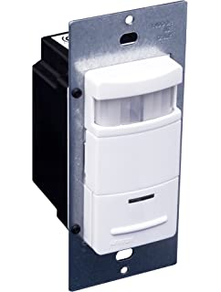 Leviton ODS10-ID Decora 120/277-Volt Wall Switch Occupancy Sensor, White