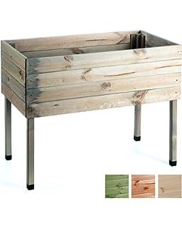 Dobar 58160e Dekoratives Hochbeet Aus Holz Kiefer Tischbeet