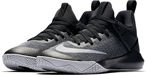 f3cec80e82e1 Image Unavailable. Image not available for. Colour  Nike Women s Zoom Shift  Basketball Shoe Black Chrome Wolf Grey ...