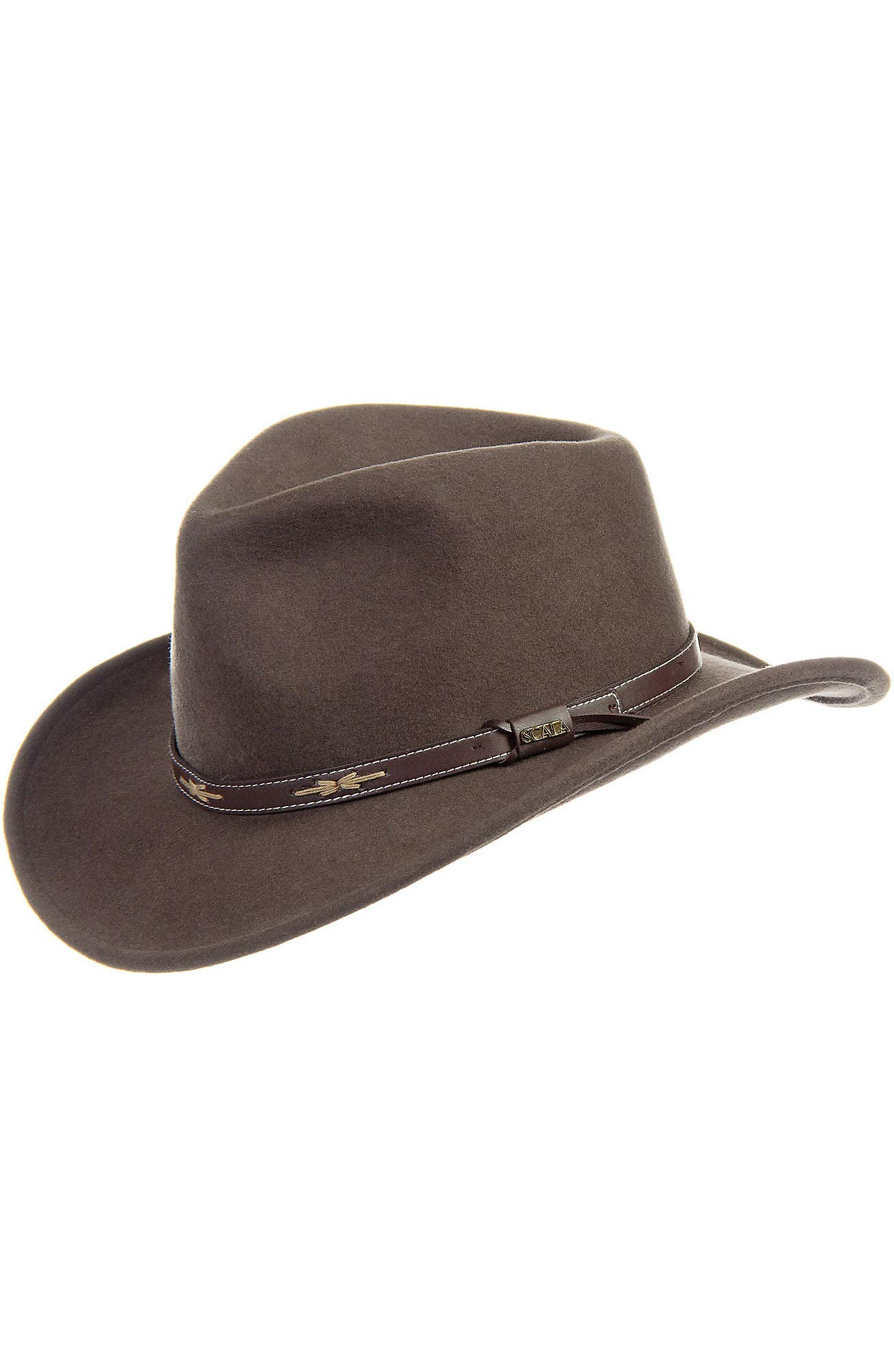 Overland Sheepskin Co Teton Crushable Wool Cowboy Hat