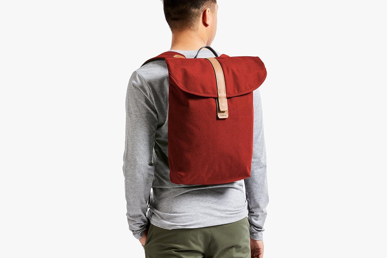 Bellroy Slim Backpack (16 liters, 15 Laptop) Mid Grey 15 Laptop) Mid Grey BSBA-MidGrey