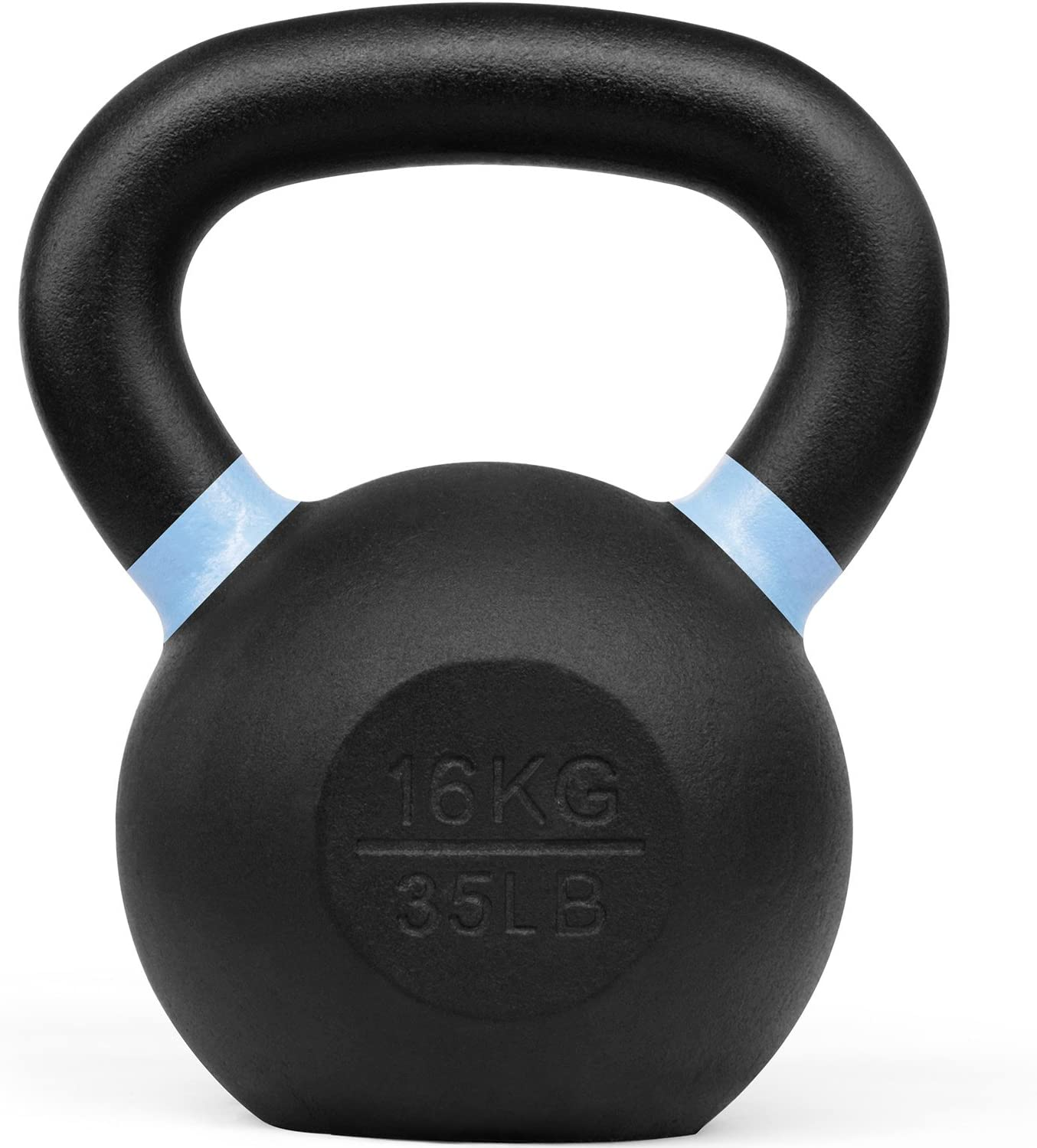 Yes4All Powder Coated Kettlebells 4, 6, 8, 10, 12, 14, 16, 20, 24, 32, 40kg