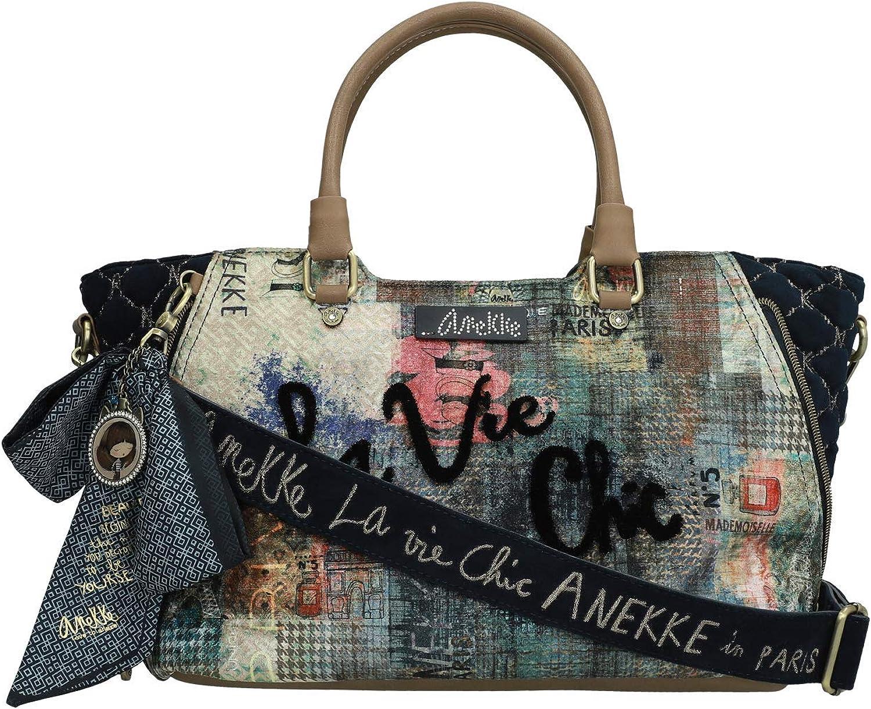 Anekke Tasche Griffe Shopper Paris Briefe: : Schuhe