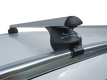 Relingträger Quick für Mercedes GLC ab 15 bis aufliegende Reling