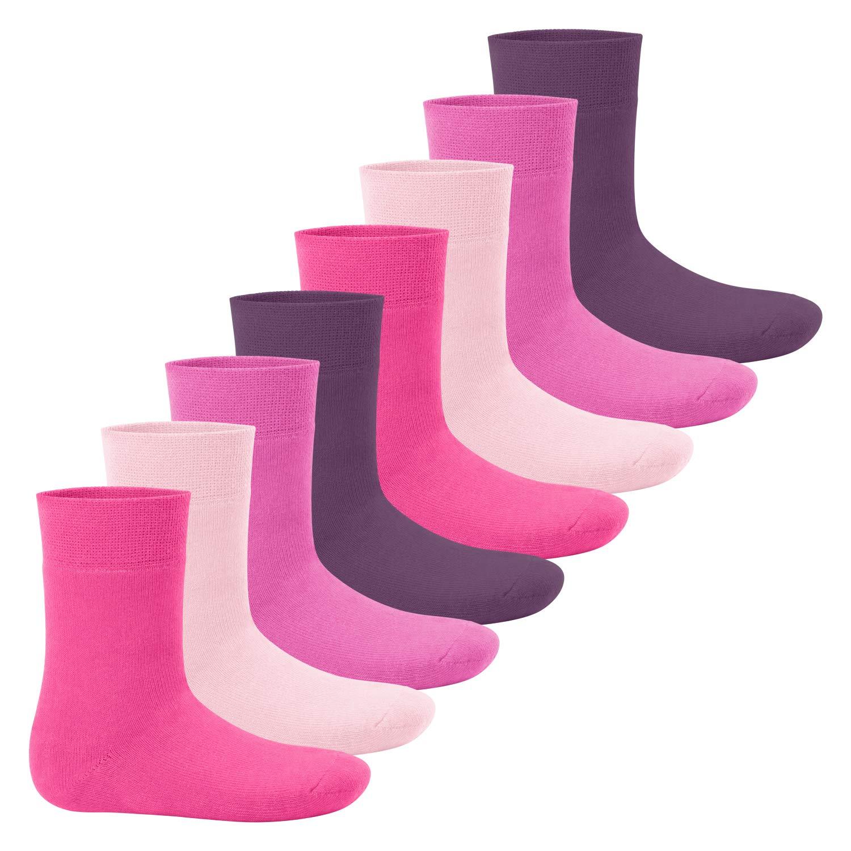 Footstar! Kinder - Everyday! Thermo Socken für Mädchen und Jungen - 8er Packs 23 26, 27 30, 31 34