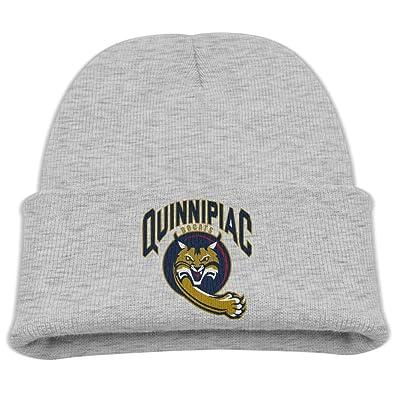Kids Quinnipiac Bobcats Black Warm Hat Beanies Cap