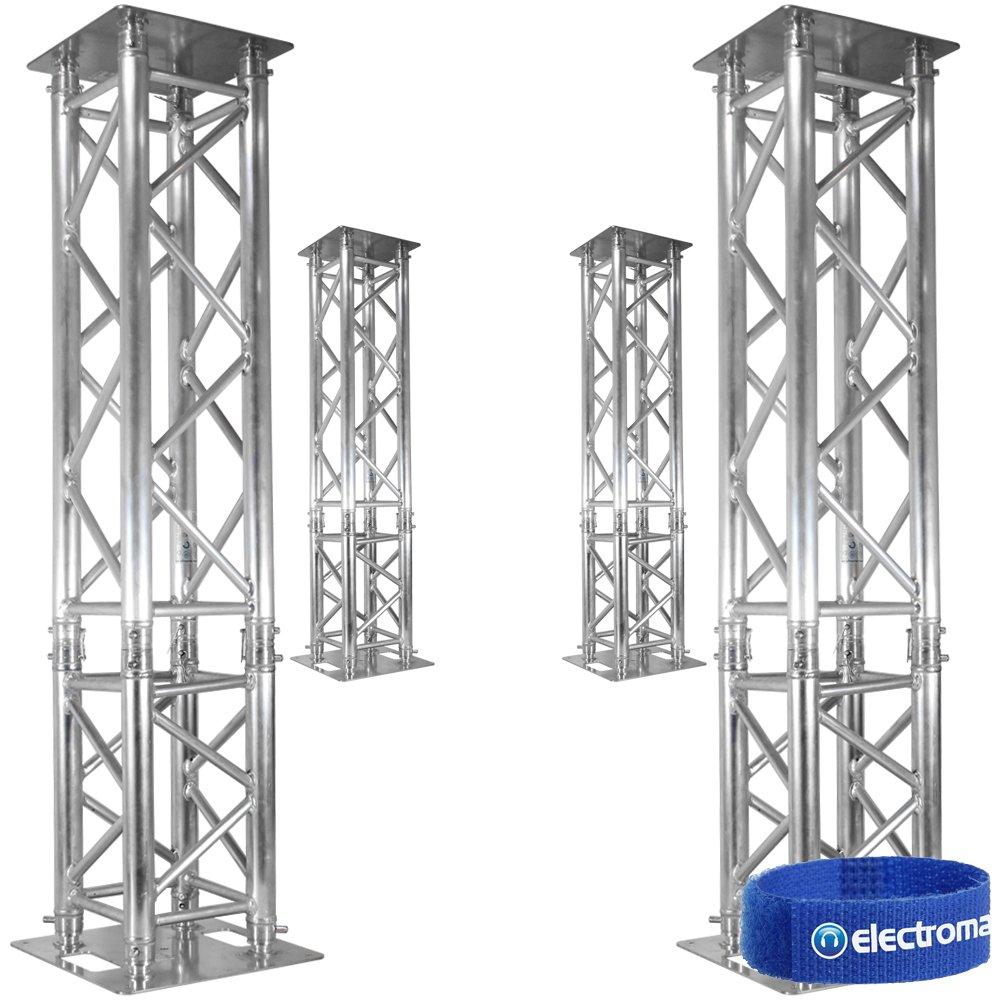 diy lighting truss 4x professional dj disco truss podium stands amazonco t51 truss