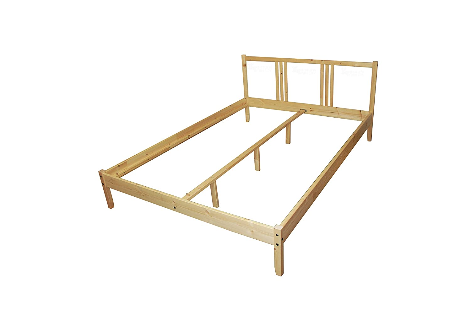 Ikea Fjellse Bed In 140 X 200 Cm Bed Frame Solid Untreated Pine