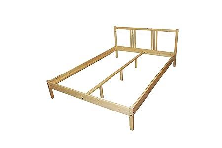 Ikea Bettgestell Fjellse Bett In 140x200 Cm Aus Massiver
