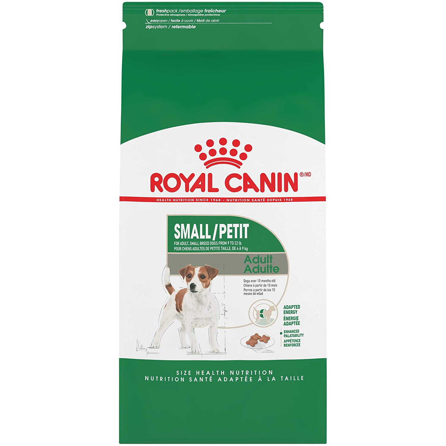 5. Royal Canin Size Health Nutrition Small Adult Formula Dry Dog Food