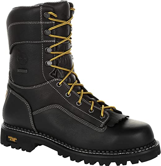 Georgia Low Heel Logger Work Boot