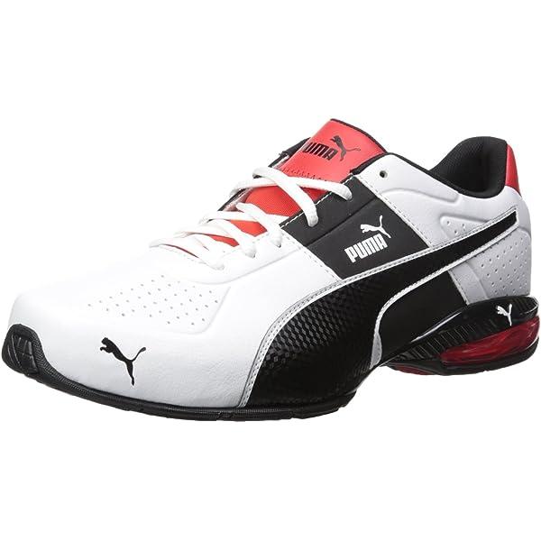 PUMA Men's Cell Surin 2 Fm Cross Trainer Shoe, Puma White