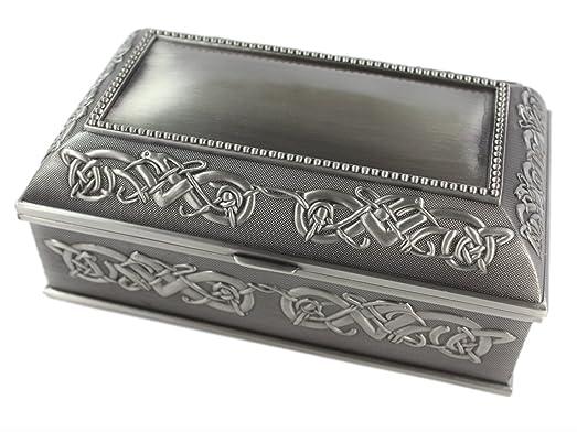 Amazoncom Celtic Jewelry Box Large 7 x 4 x 3 Pewter Irish