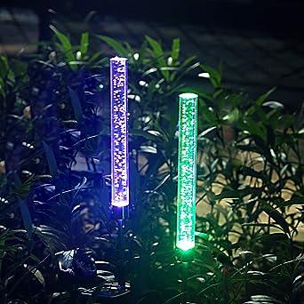 XLUX Luces solares para decoración de jardín.: Amazon.es: Iluminación