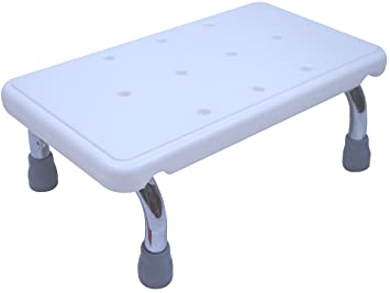 Bath Step Stool - Foot Step for Children Adults Seniors Elderly u0026 Handicap  sc 1 st  Amazon.com : step stools for the elderly - islam-shia.org