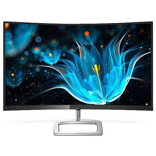 Philips 278E9QJAB 00 Monitor 27 IPS Ultra Wide Curvo FHD 1920x1080 Pixels Modo LowBlue FlickerFree FreeSync 4ms HDMI Displayport