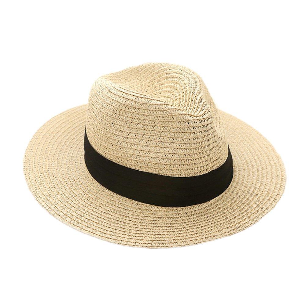 QQI Herren Panama-Hut Large beige JL044