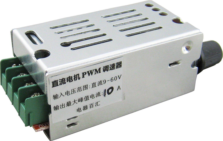 Amazon.com: Yeeco DC 7V-60V 20A PWM Controller Stepless DC Motor ...